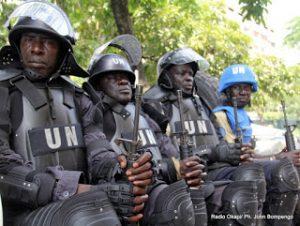 Les casques bleus en RDC