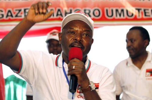 Article : Nkurunziza a gagné, le Burundi a perdu