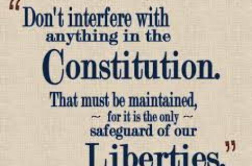 Article : La Constitution, ce livre le plus maltraité en Afrique