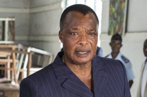 Article : Sassou Nguesso: une prestation de serment sur les morts